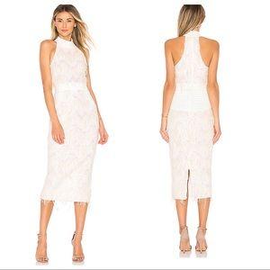 NWT! Zhivago Slow Motion Dress in White